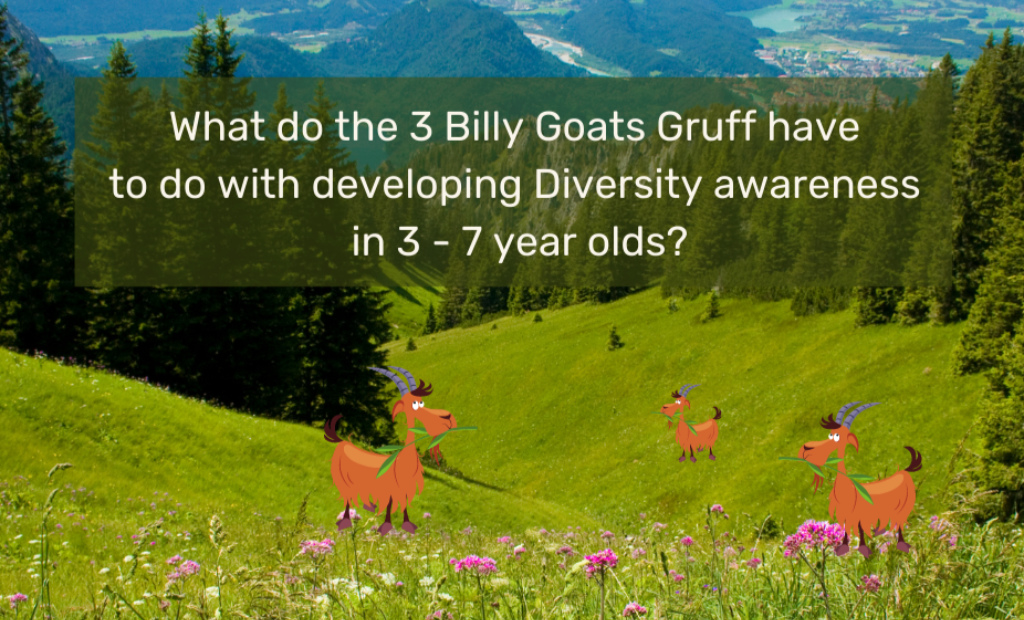What do the 3 Billy Goats Gruff have to do with developing Diversity